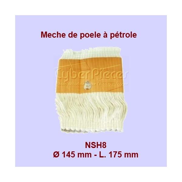 NSH8 Mèche de poêle à pétrole - S85 - 140x170mm