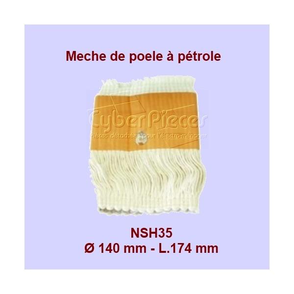 NSH35 Mèche de poêle à pétrole - Khf100 - 140x174mm