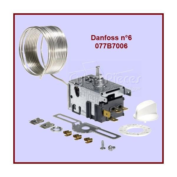 Thermostat Danfoss N°6 - 077B7006 Congélateur avec Alarme