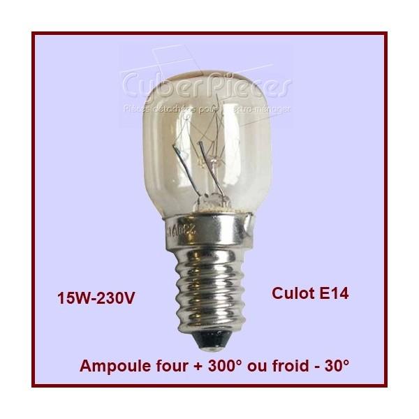Ampoule 15w E14 de -30° à +300°