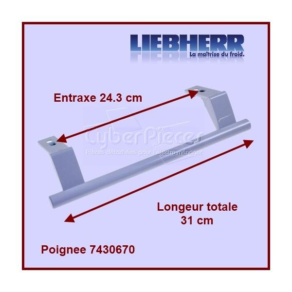 Poignée Blanche 24,3 cm 7430670