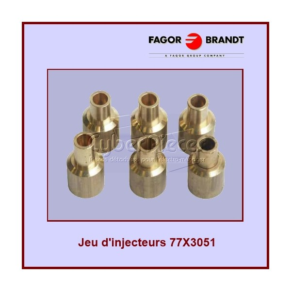 Kit d'injecteurs Gaz de Ville 77X3051