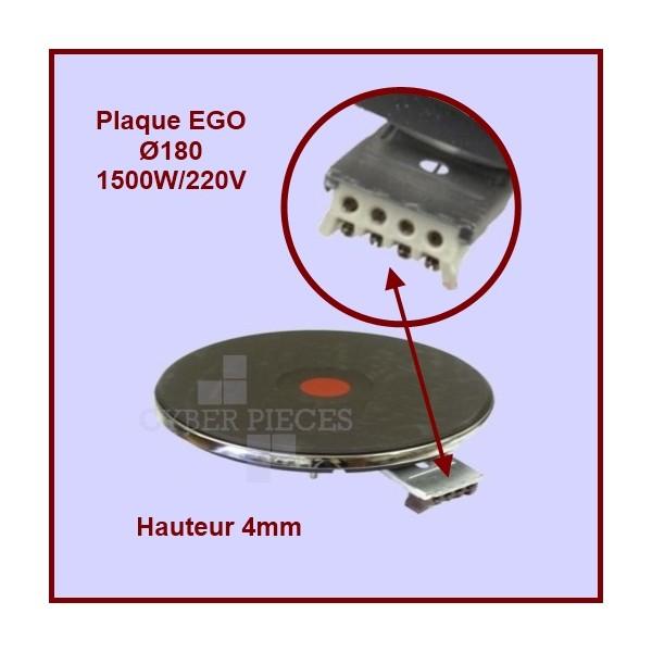 Foyer fonte 1500w/220v - Ø180mm - 4mm