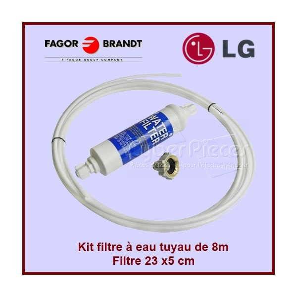 Kit complet raccordement avec filtre à eau