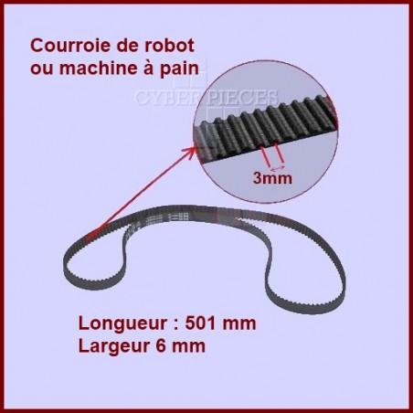 Courroie pour robot 501 mm -  MS0698399