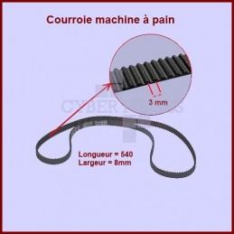 courroie 420mm machine pain htd420 3m 8 pour courroies machine a pain petit electromenager. Black Bedroom Furniture Sets. Home Design Ideas