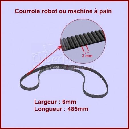 Courroie robot 485 mm - 634710