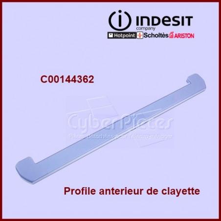 Profile avant  clayette couvre cristal 144362