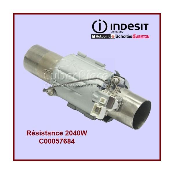 Tube de chauffe 2040W Indesit C00057684