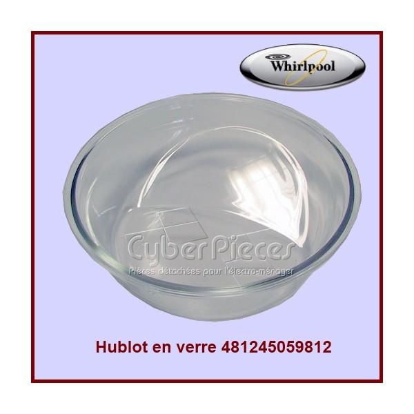 Hublot en verre Whirlpool 481245059812