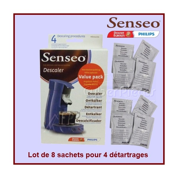 Lot de 8 sachets de détartrant HD7012