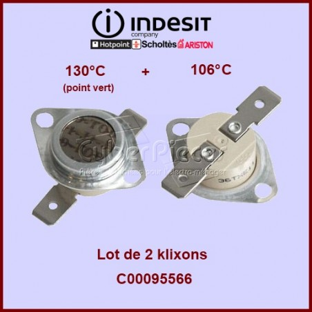 Kit de 2 thermostats - C00095566