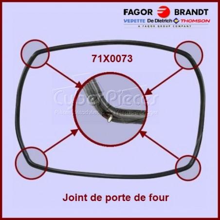 Joint de porte de four 71X0073