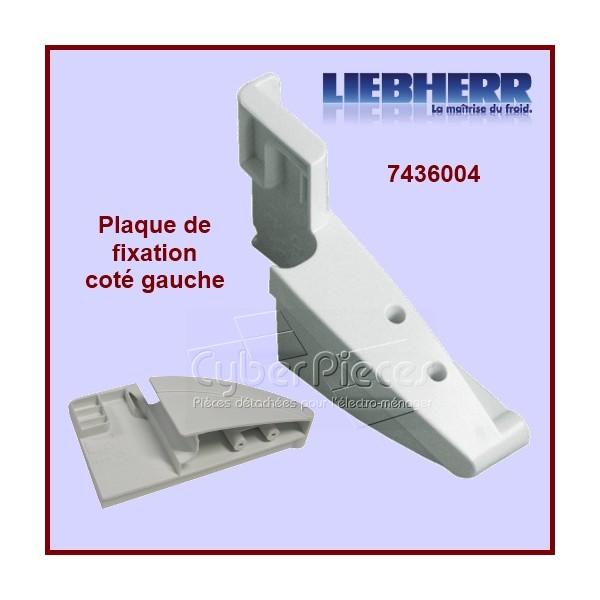 Plaque de fixation Gauche 7436004 Liebherr