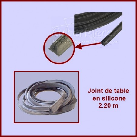 Joint de table 2.2m en silicone