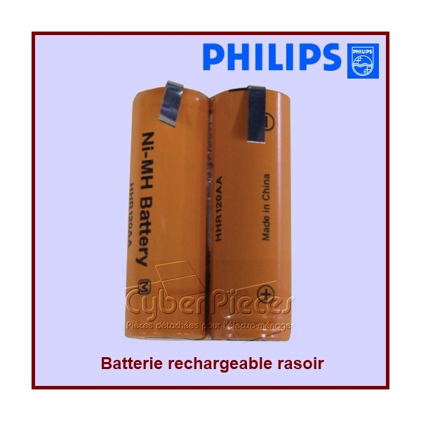 Lot de 2 batteries rechargeables