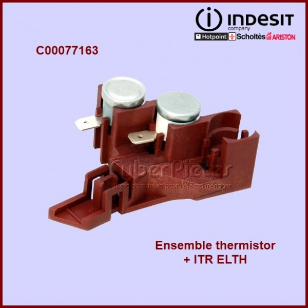 Ensemble thermistor + ITR ELTH  077163