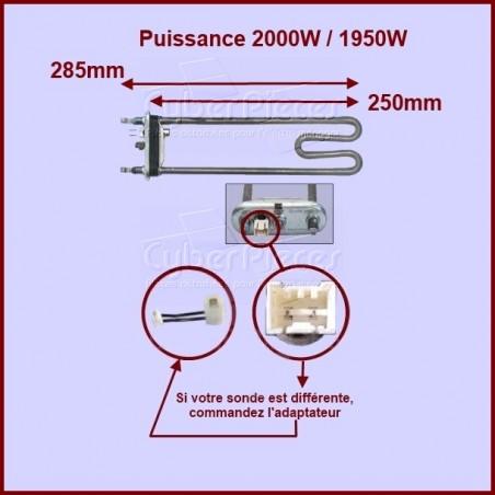 Thermoplongeur 1950w - 2000w - 52X0554
