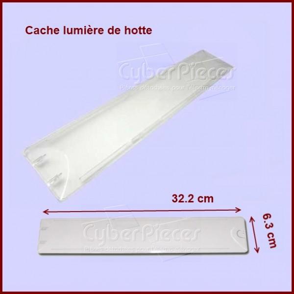cache lumi re plafonnier 72x6876 pour hottes cuisson pieces detachees electromenager. Black Bedroom Furniture Sets. Home Design Ideas
