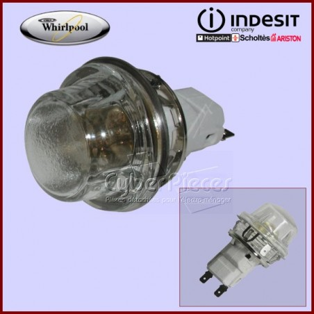 Douille + ampoule 481225518213 (Whirlpool, Indesit)