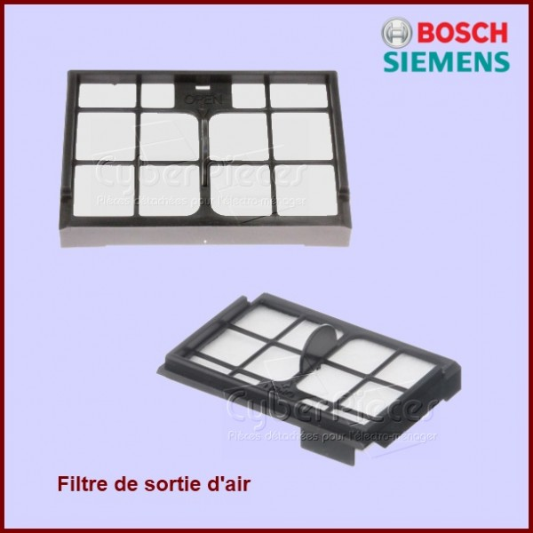 Filtre de sortie d'air BOSCH 00633890