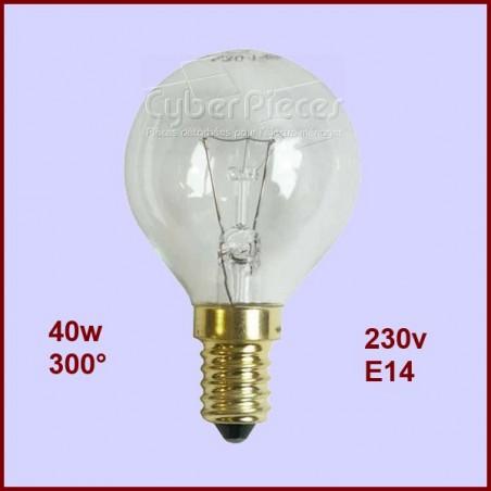 Lampe Four E14 - 40w - 300°