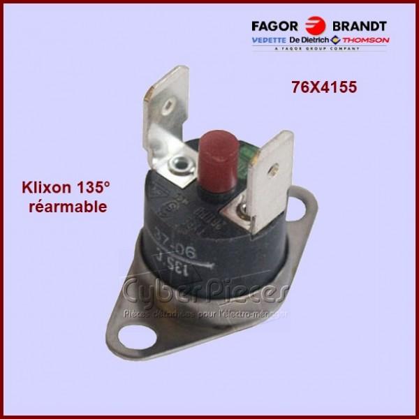 Klixon sécurité réarmable  135°