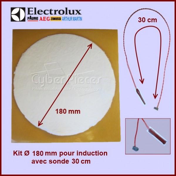 Kit Ø 180 mm pour induction avec sonde 30 cm