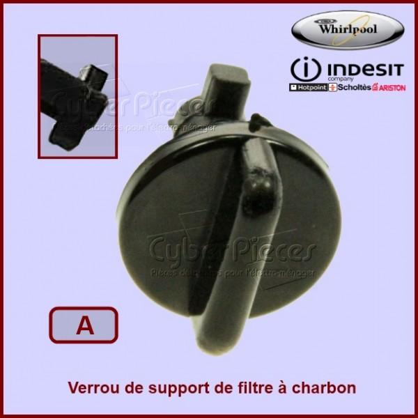 Verrou du support de filtre à charbon 481231038959