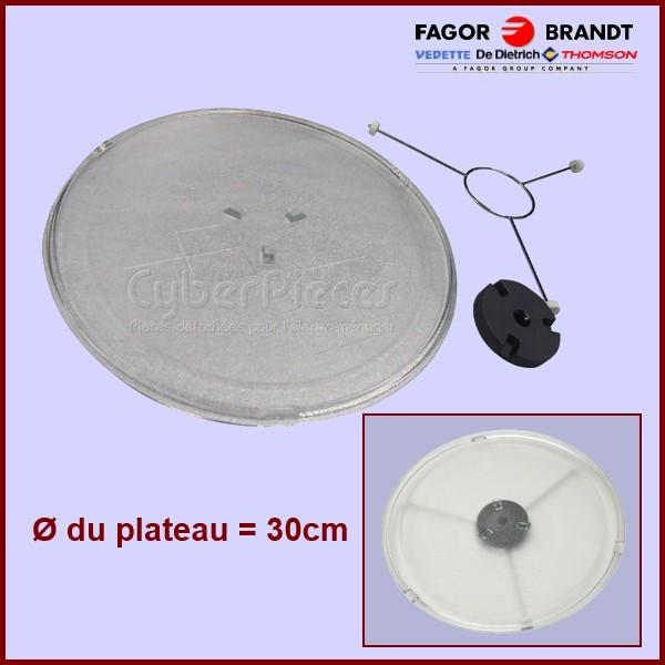 Kit Plateau Tournant Ø 30 - 74X7599 ou 50280004008 chez Electrolux.