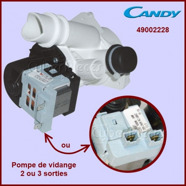 Pompe Candy Rosières 3 Sorties 49002228
