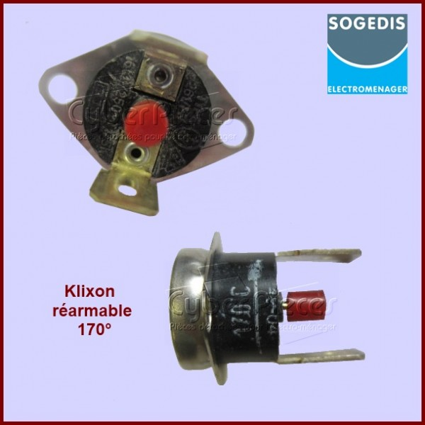 Thermostat réarmable Far / Sogedis 61709