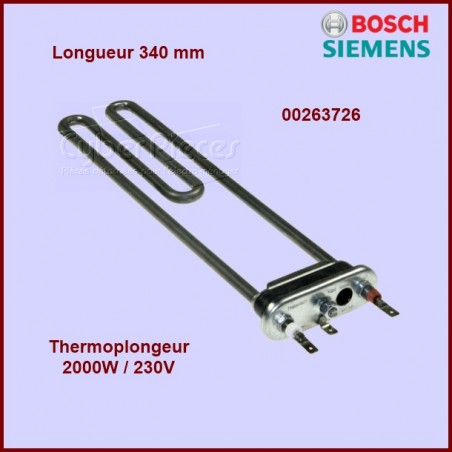 Thermoplongeur 2000w - 340mm 263726