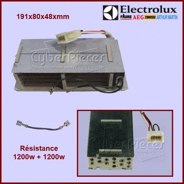 Résistance 1200w + 1200w / 220v - 1250022132