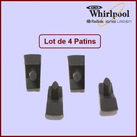 Sachet de 4 Pieds caoutchouc 480121103666