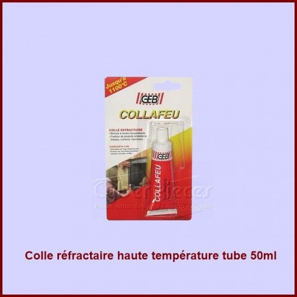 colle r fractaire haute temp rature tube 50ml pour colles colliers composant produits fini. Black Bedroom Furniture Sets. Home Design Ideas