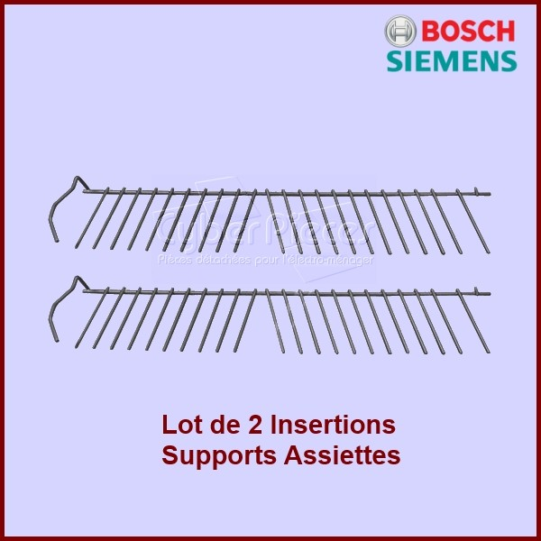 Lot de 2 supports assiettes ( Insertions) 00357872
