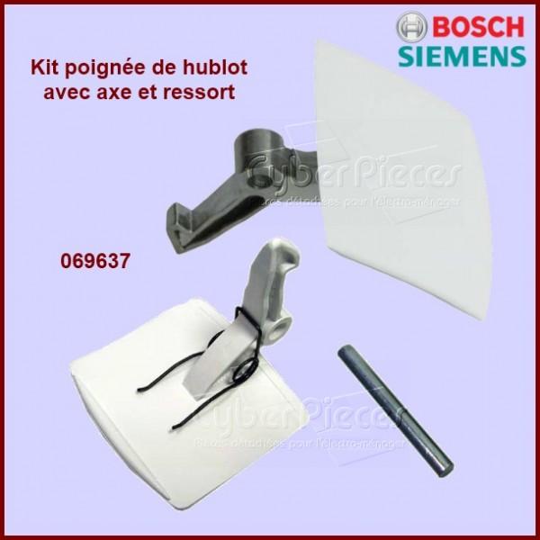 Poignée complète de hublot Bosch 00069637