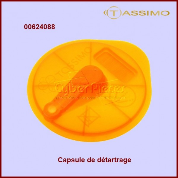 Capsule de détartrage T-disc orange 624088