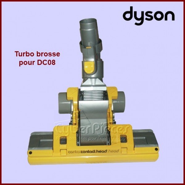 turbo brosse jaune dyson dc08 pour aspirateur petit. Black Bedroom Furniture Sets. Home Design Ideas