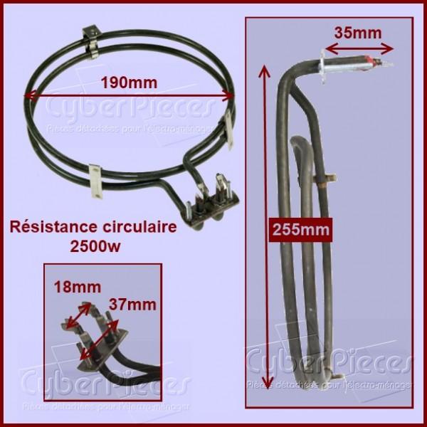 Résistance circulaire 2500w