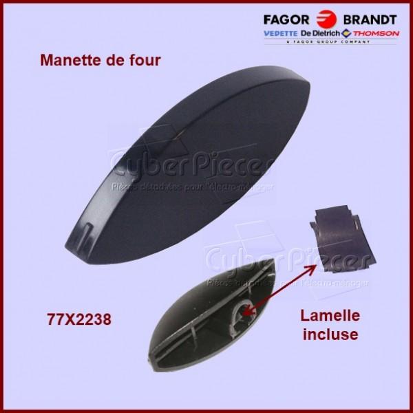 Manette de four noire 77X2238