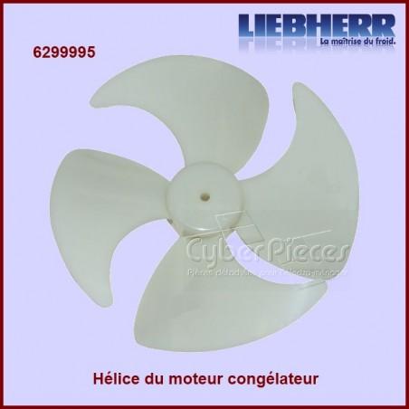 Hélice moteur ventilateur du congélateur 6299995