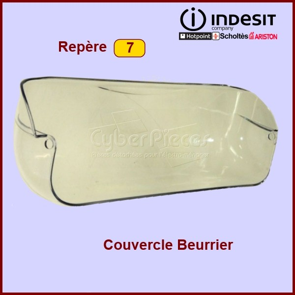 Couvercle Beurrier  L.443MM INDESIT C00287706