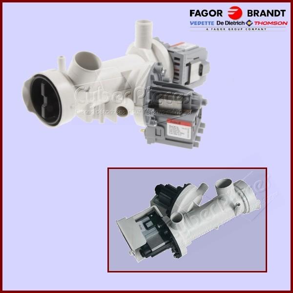 Pompe de vidange 52x0598 pour pompe de vidange machine a - Vidange machine a laver ...