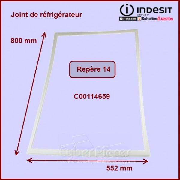 Joint de porte du réfrigérateur C00114659