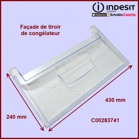 Façade de tiroir de congélateur C00283741