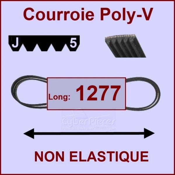 Courroie 1277 J5 non élastique