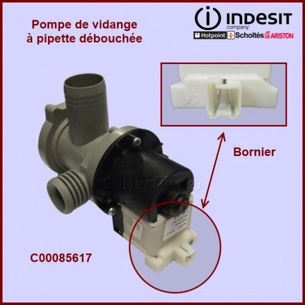 Pompe de vidange complète C00085617