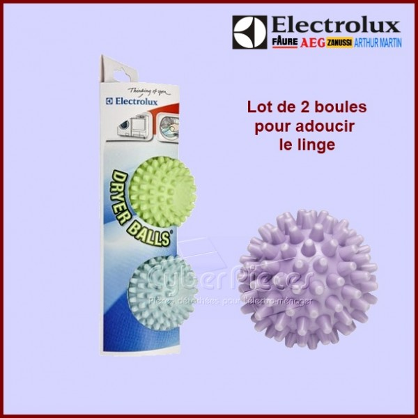 Lot de 2 boules de séchage Dryer balls